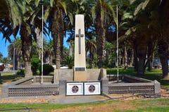 Monumento de guerra en Swakopmund Fotografía de archivo libre de regalías