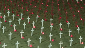 Monumento de guerra en Washington DC metrajes