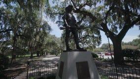 Monumento de guerra hispanoamericana/sabana/Gorgia/los E.E.U.U. metrajes