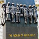 Monumento de guerra de las mujeres Imagen de archivo
