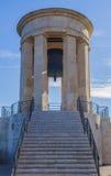 Monumento de guerra Malta Fotografía de archivo libre de regalías
