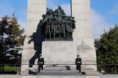 Monumento de guerra nacional de Canadá foto de archivo