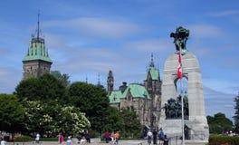 Monumento de guerra nacional, Ottawa 3 fotografía de archivo libre de regalías