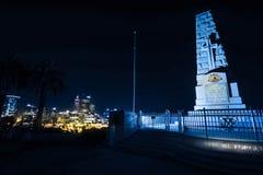 Monumento de guerra de Perth Imagen de archivo libre de regalías
