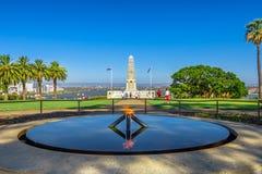 Monumento de guerra de Perth foto de archivo libre de regalías