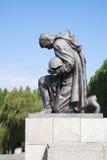 Monumento de guerra soviético, parque de Treptower Fotos de archivo