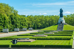 Monumento de guerra soviético Imagen de archivo