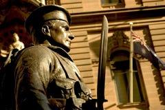 Monumento de guerra, Sydney fotografía de archivo libre de regalías