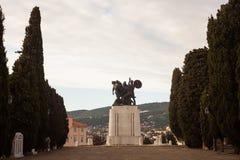 Monumento de guerra, Trieste Fotografía de archivo