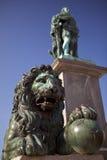Monumento de Gustavo em Éstocolmo, Sweden fotografia de stock royalty free