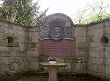 Monumento de Hölderlin em Lauffen Imagem de Stock Royalty Free