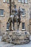 Monumento de Haig del conde en el castillo de Edimburgo Imágenes de archivo libres de regalías