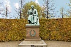 Monumento de Hans Christian Andersen Imagenes de archivo