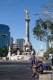Monumento de Indipendence, Cidade do México imagens de stock