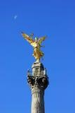Monumento de Indipendence, Ciudad de México fotos de archivo