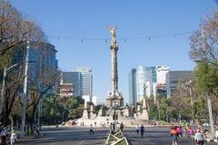 Monumento de Indipendence, Ciudad de México Imagen de archivo