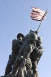 Monumento de Iwo Jima Imagenes de archivo
