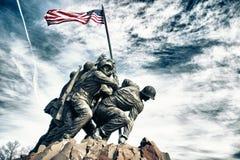 Monumento de Iwo Jima foto de archivo libre de regalías