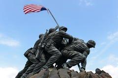 Monumento de Iwo Jima Fotografía de archivo libre de regalías