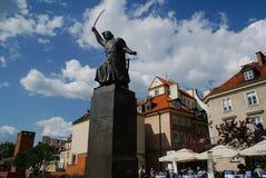Monumento de Jan Kilinski en el cuadrado de Krasinski fotografía de archivo libre de regalías