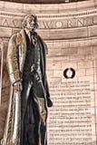 Monumento de Jefferson Imagen de archivo