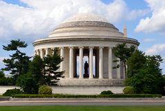 Monumento de Jefferson en Washington, C C Fotos de archivo