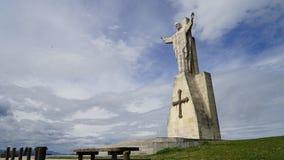 Monumento de Jesus Sacred Heart, España Fotografía de archivo