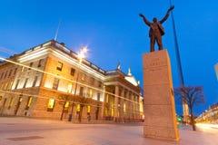 Monumento de Jim Larkin en Dublín foto de archivo libre de regalías