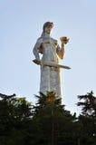 Monumento de Kartlis Deda, Tibilisi Georgia Foto de archivo