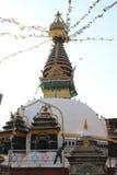 Monumento de Katmandu fotos de stock