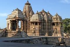 Monumento de Khajuraho Imagen de archivo libre de regalías