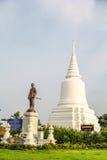Monumento de Khun Khang Lhek en Wat Wang Temple, Phatthalung, Thaila Foto de archivo