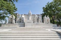 Monumento de Kossuth en Budapest fotografía de archivo libre de regalías