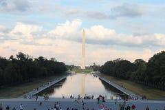 Monumento de la alameda del Washington DC Imágenes de archivo libres de regalías