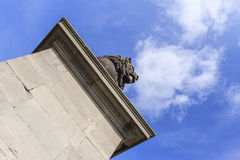Monumento de la batalla de Waterloo Imagenes de archivo