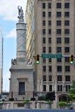 Monumento de la batalla en Baltimore foto de archivo