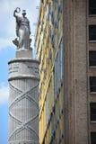 Monumento de la batalla en Baltimore imagenes de archivo