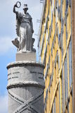Monumento de la batalla en Baltimore Foto de archivo libre de regalías