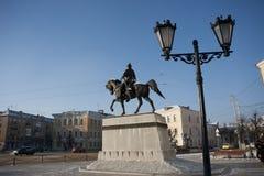 Monumento de la ciudad Fotografía de archivo libre de regalías