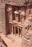 Monumento de la ciudad antigua del Petra Fotografía de archivo libre de regalías