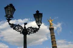 Monumento de la columna de la victoria Imagen de archivo libre de regalías