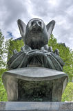 Monumento de la costa este, parque de batería, Nueva York Fotos de archivo