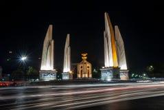 Monumento de la democracia, Bangkok Foto de archivo libre de regalías