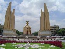 Monumento de la democracia de Bangkok Foto de archivo libre de regalías