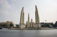 Monumento de la democracia en el centro de Bangkok Imágenes de archivo libres de regalías