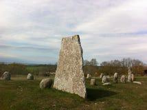 Monumento de la era de Viking Foto de archivo