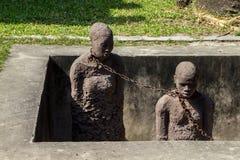 Monumento de la esclavitud - ciudad de piedra Imagen de archivo libre de regalías