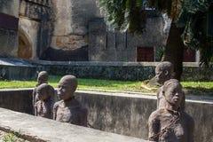 Monumento de la esclavitud - ciudad de piedra Foto de archivo libre de regalías