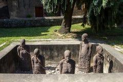 Monumento de la esclavitud - ciudad de piedra Fotos de archivo