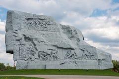 Monumento de la fortaleza de Brest imágenes de archivo libres de regalías